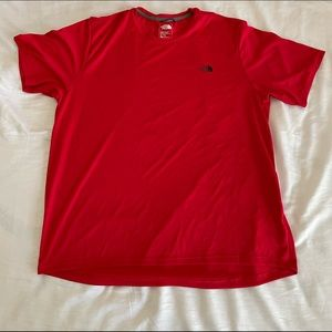 NWOT Men's north face athletic shirt XL